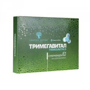 Тримегавитал. ДГК Суперконцентрат (Trimegavitals. DHA Superconcentrate) EAC # 500146
